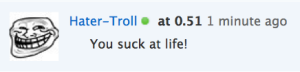 Soundcloud Hater-Troll